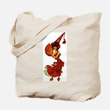 Halloween Party Girl Tote Bag ~ on BOTH Sides!