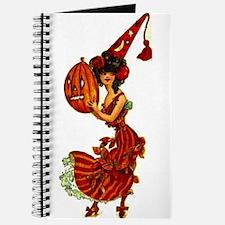 Halloween Party Girl Journal