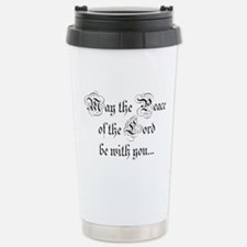 ...and also with you. Travel Mug