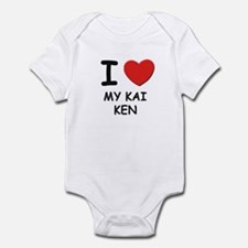 I love MY KAI KEN Infant Bodysuit