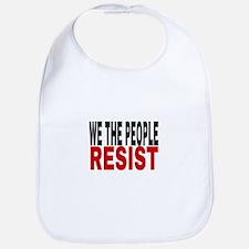 We The People Resist Baby Bib