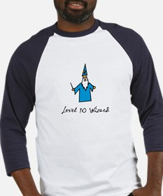 Level 10 Wizard Baseball Jersey