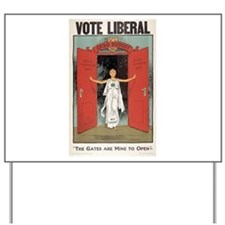 Vote Liberal Yard Sign