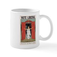 Vote Liberal Small Mug