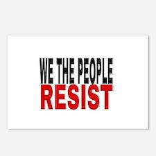 We The People Resist Postcards (Package of 8)