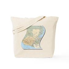 Mapa de Guatemala Tote Bag