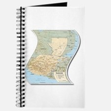Mapa de Guatemala Journal