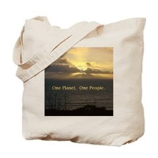 One Planet. One People. Environment Tote Bag