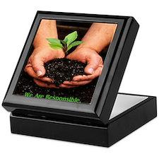 We Are Responsible. Environment Keepsake Box