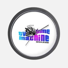 TV Time Machine Wall Clock