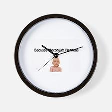 Funny Nicu nurses Wall Clock