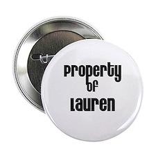 Property of Lauren Button