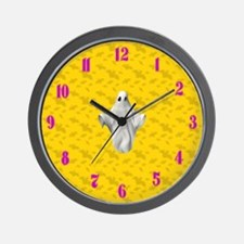 Cute Scary numbers Wall Clock