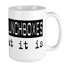 Collecting Lunchboxes Is Mug