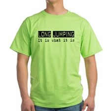 Long Jumping Is T-Shirt