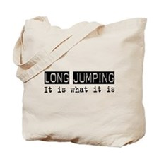Long Jumping Is Tote Bag