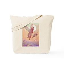 WHEN PIGS FLY IN WONDERLAND Tote Bag