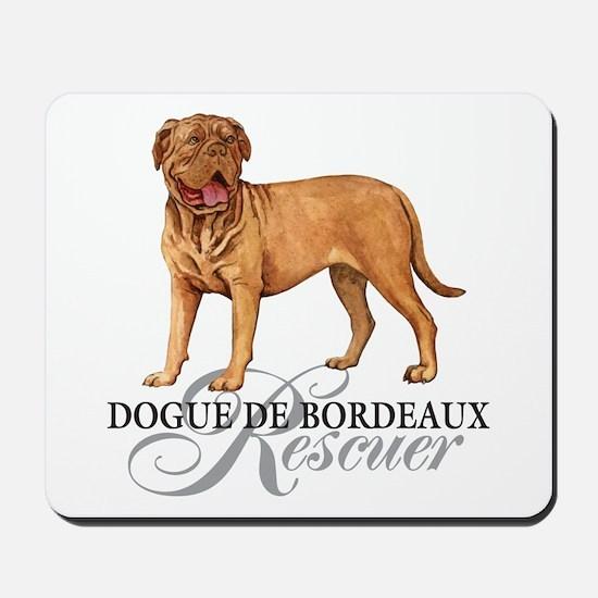 Dogue de Bordeaux Rescue Mousepad