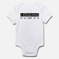 Logging Is Infant Bodysuit