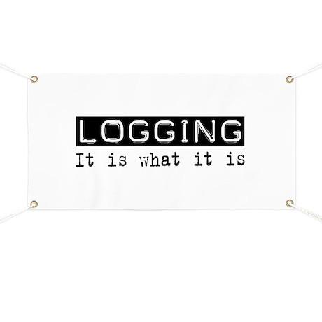 Logging Is Banner
