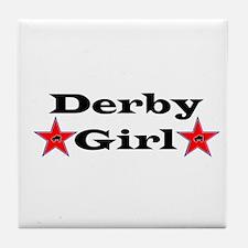 Derby Girl - Star Tile Coaster