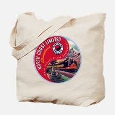 North Coast Railroad Tote Bag
