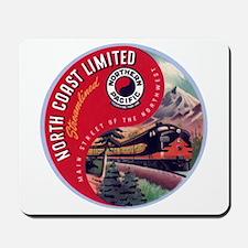 North Coast Railroad Mousepad