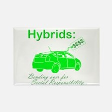 Hybrids: Social Responsibility Rectangle Magnet