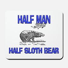 Half Man Half Sloth Bear Mousepad