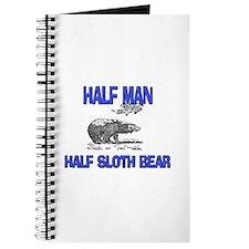 Half Man Half Sloth Bear Journal