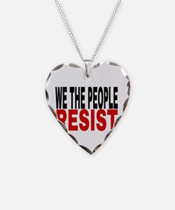 We The People Resist Necklace