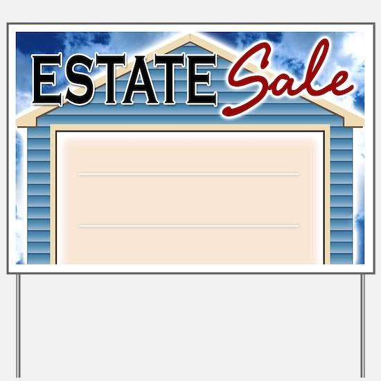 Home Estate Sale Yard Sign