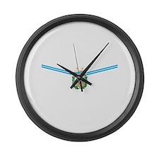 Unique Afa argentina sports Large Wall Clock