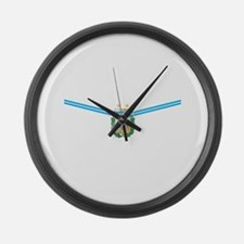 Unique Afa argentina sports Large Wall Clock