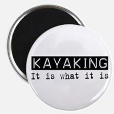 "Kayaking Is 2.25"" Magnet (10 pack)"