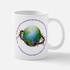 Christ Crown of Thorns and Globe Mug
