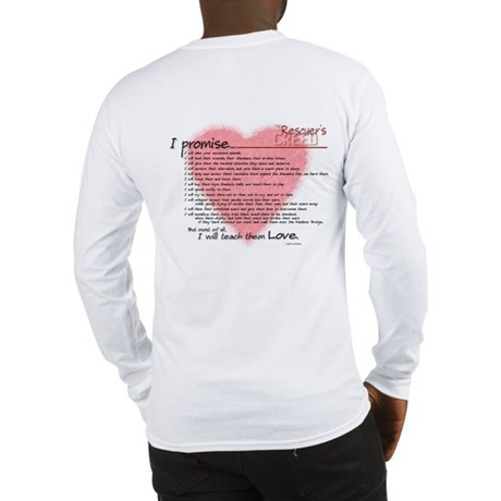 Long Sleeve Rescuers Creed T-Shirt