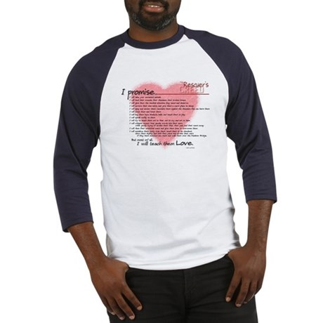 Rescuers Creed Baseball Jersey