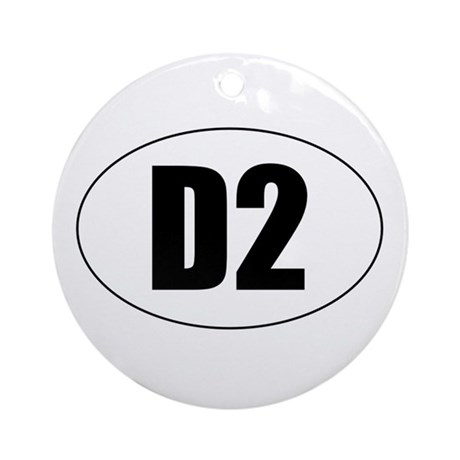 D2 Ornament (Round)