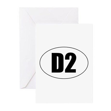 D2 Greeting Cards (Pk of 10)