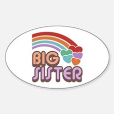 Big Sister Oval Decal