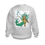 Anime Merman Kids Sweatshirt