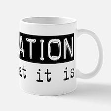 Insulation Is Mug