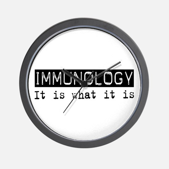 Immunology Is Wall Clock
