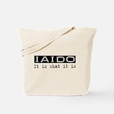 Iaido Is Tote Bag