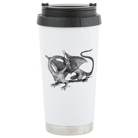 Dragon Stainless Steel Travel Mug