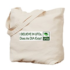Does the DIA Exist? Tote Bag