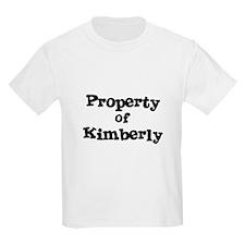 Property of Kimberly Kids T-Shirt