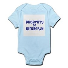 Property of Kimberly Infant Creeper