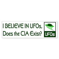 Does the CIA Exist? Bumper Sticker (10 pk)